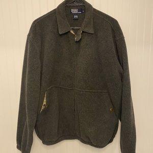 Men's Ralph Lauren Fleece Full zip front Jacket